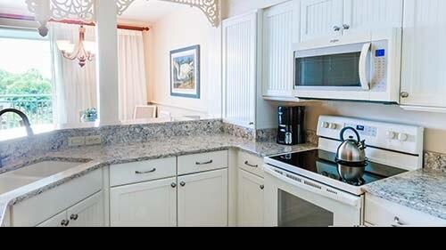 Sanibel Cottages Resort Kitchen