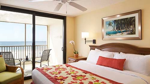 Seawatch On-the-Beach Resort Bedroom