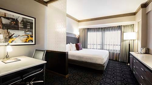 The Hilton Club – New York Living Area
