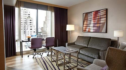 West 57th Street by Hilton Club Living Area
