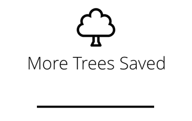 More Trees Saved